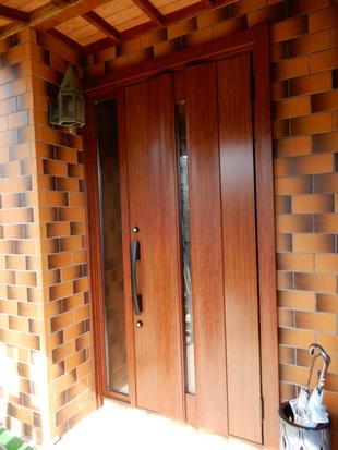 Y邸 玄関ドアリフォーム