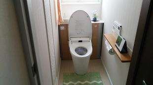 秋田市 N田様邸 トイレ取替工事