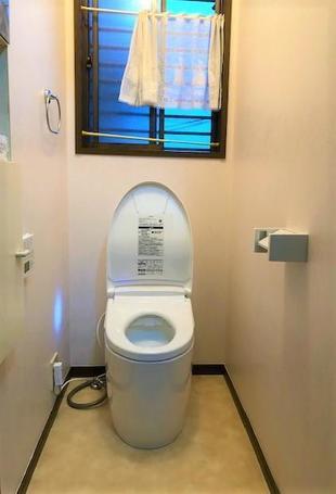 牛久市K様邸 トイレ交換工事