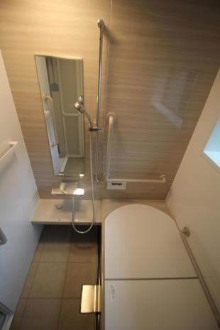 浴室リフォーム(旧タイル壁式からUBへ)