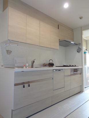 ナチュラル優しい空間に~キッチン、洗面リフォーム~