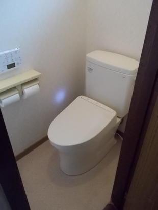 トイレ便器交換工事