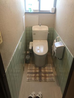 お悩み解決!和式トイレを洋式トイレにリフォーム!