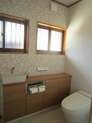 トイレ After