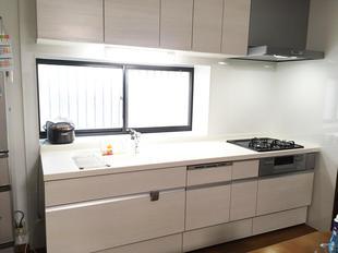 食洗器付きのキッチンに変更