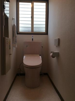 トイレ改修工事(下水道切替)