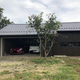 築約40年の倉庫兼ガレージを改修
