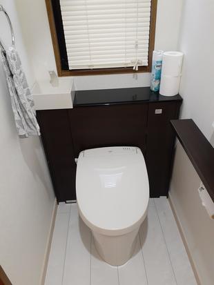 使い勝手のいいトイレに改修