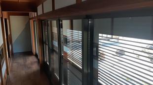 縁側と窓、雨戸の改修工事