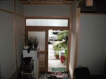玄関&壁/城陽市でリフォームするなら住まいプロ ホームウェル城陽(2011.12.09)