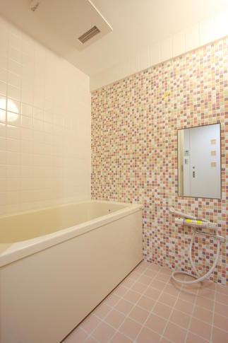 マンションで叶う造作の浴室