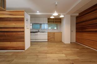 賃貸オーナーが住むマンションリノベーション