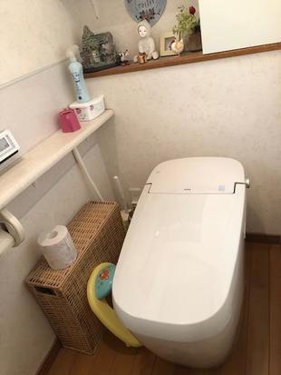 水漏れのトイレを最新タンクレストイレへ快適節水リフォーム!