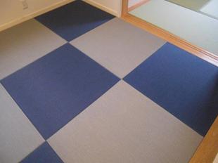カラー畳でスタイリッシュな和室へイメージチェンジリフォーム
