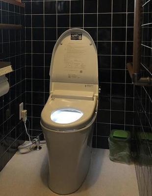 和式・男性トイレを1つにまとめてトイレ広々リフォーム!