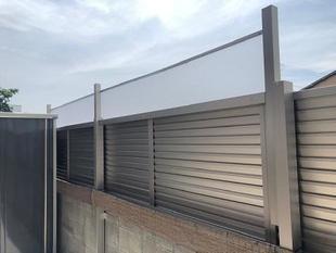 和歌山市 目隠しフェンス設置リフォーム