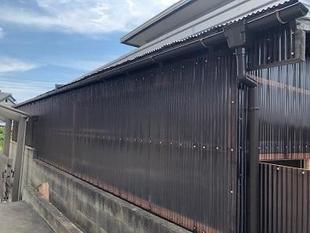 和歌山市 物置修繕・波板貼り替えリフォーム