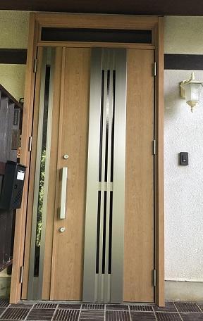 和歌山市 玄関ドア交換リフォーム