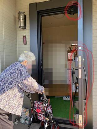 和歌山市 玄関ドア用電動オープナーシステムDOAC取り付けリフォーム