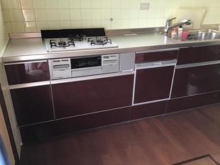 キッチン取替工事~色にこだわったキッチン~