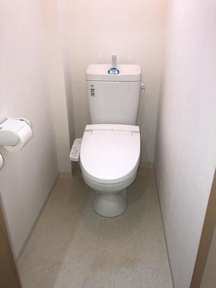 桐生市 和式兼用便器から洋式トイレに。