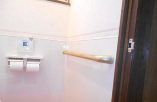 高鍋町 リフォーム トイレ手摺