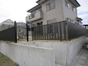 フェンス、門扉設置工事