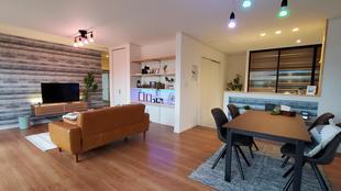 最先端リノベーション住宅 LDK空間
