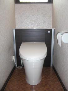 キャビネット付トイレ 「リフォレ」
