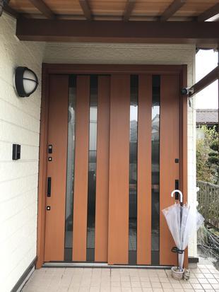 玄関ドア交換で『防犯性もアップ』