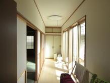 廊下(広縁)リフォーム工事