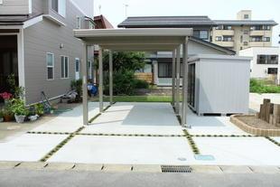 カーポート設置・駐車場整備 リフォーム工事