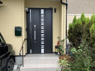 1DAYリフォーム 玄関ドア「リシェント」