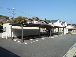 マンション駐車場にカーポート(^^)