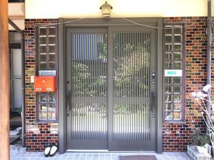 1DAYリフォームで新築同様の玄関引戸(リシェント)へ交換