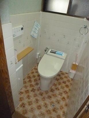 節水型便器に取替(2011.05.16)