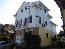 3階建て木造の屋根外壁塗装他