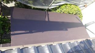 鹿児島市玄関屋根リフォーム