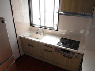 鹿児島市マンションでキッチンリフォーム リシェルSIを採用!