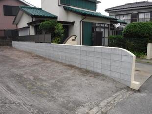 ブロック塀のリフォーム!(鹿児島市)