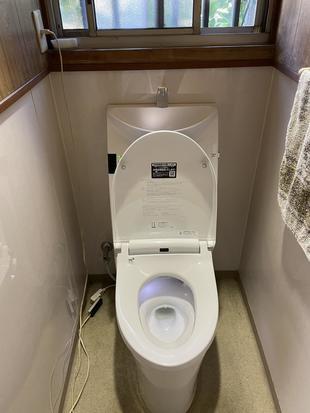 [鹿児島市]トイレのリフォーム工事!