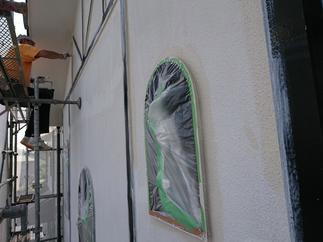 外壁等を塗装させて頂きました。