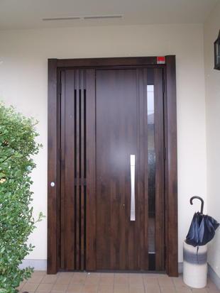 リフォーム玄関ドア(カバー工法)
