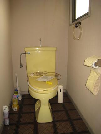 2階トイレ[施工前]