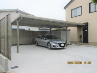 [鳥取県 米子市]広々とした駐車場スペース新設工事