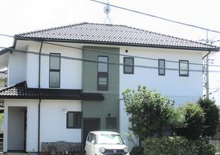[鳥取県 米子市]グリーンがアクセント!屋根・外壁塗装工事