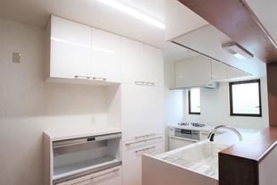 [鳥取県 米子市]L型キッチンリフォーム