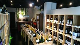 雰囲気のあるワインショップにイメージチェンジ!