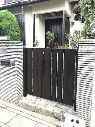 【ワンタッチでお出迎え!】家の中からワンタッチ開閉できる門扉のビフォーアフター!