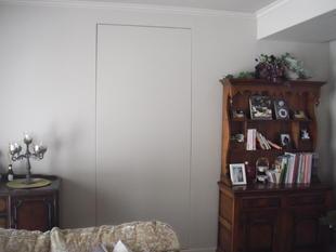 和室を目立たせたくない、隠し扉的リフォーム。